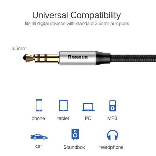 3.5 mm Jack Aux Cable for Speaker / Headphone Computers & Networking Networking