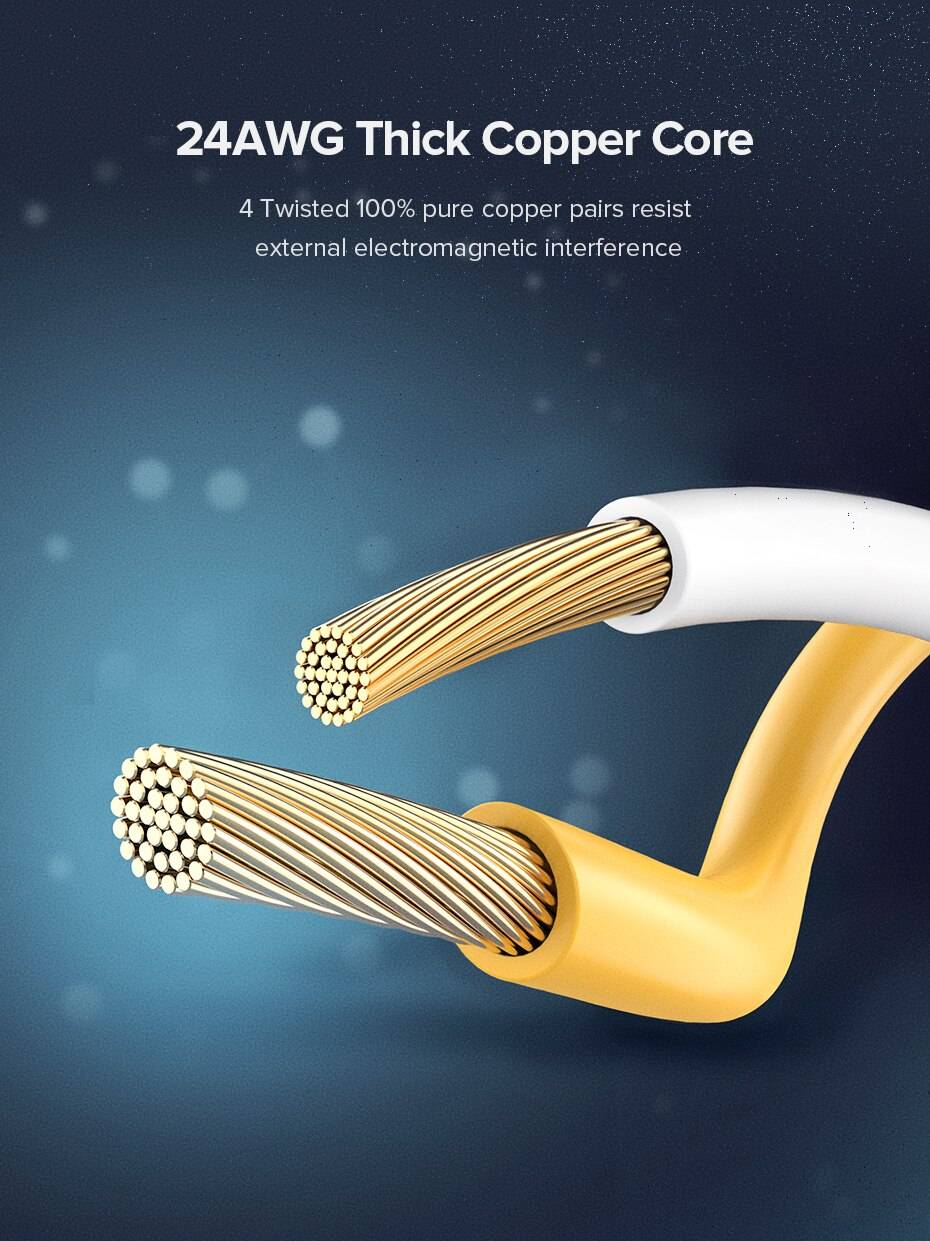 Long Cat 8 Ethernet Cable