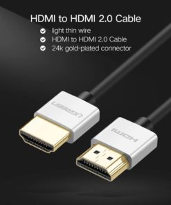 4K Slim HDMI to HDMI 2.0 Cable Computers & Networking Networking