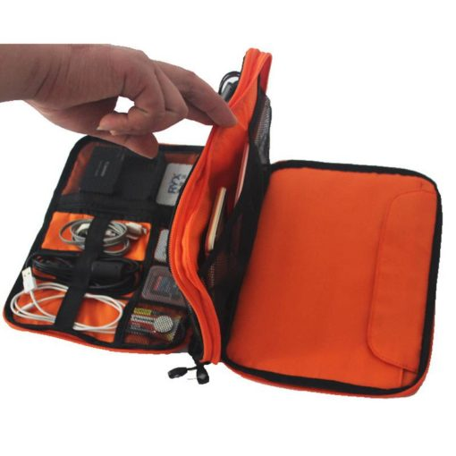 High Grade Nylon Travel Carry Bag for Gadgets Budget Friendly Gifts