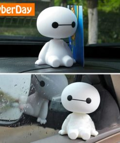 Robot Head Shaking Figure for Car Decoration Weekly Featured Products