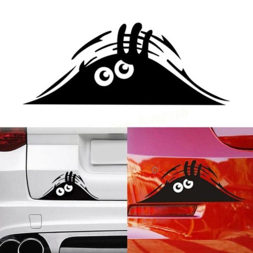 Peeking Monster Car Sticker Weekly Featured Products