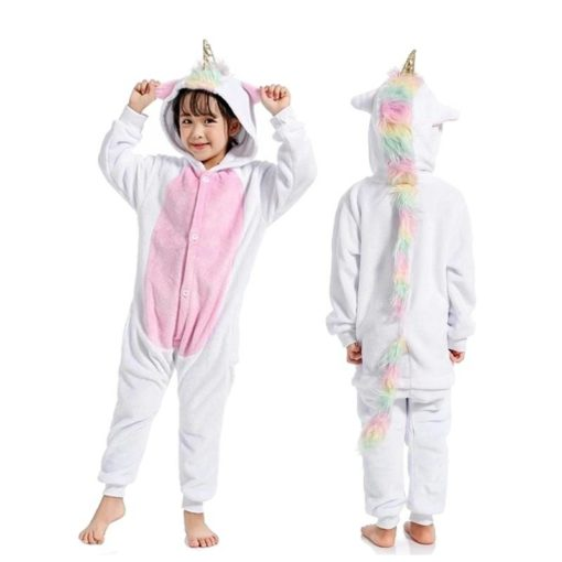 Kid's Cute Rainbow Unicorn Kigurumi Weekly Featured Products