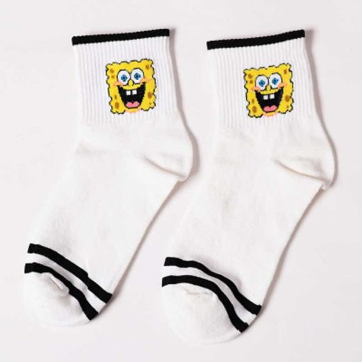 Cute Short Socks with SpongeBob Charachters Weekly Featured Products