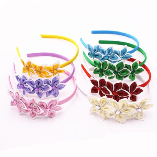 Fashion Floral Silky Girl's Headband Weekly Featured Products