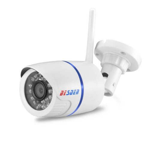 Weatherproof Adjustable Wi-Fi Full-HD Camera With SD Card Slot Cool Tech Gifts