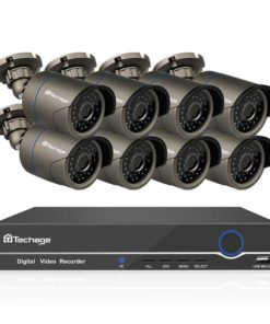 8 Channels 1080P Outdoor Security System Cool Tech Gifts