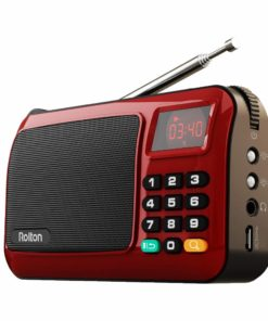 Portable Mini FM LED Display Radio Speakers Cool Tech Gifts