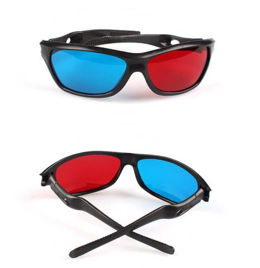 Universal 3D Plastic Glasses Cool Tech Gifts