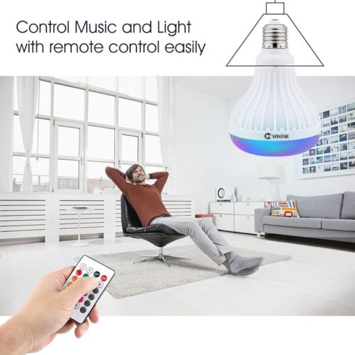 Wireless Bluetooth Speaker and RGB Bulb LED Lamp Cool Tech Gifts