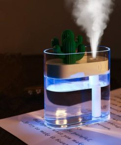 Ultrasonic USB Cactus Shaped Air Humidifier Cool Tech Gifts