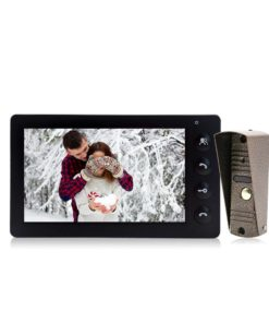Rainproof 7″ Video Intercom System Cool Tech Gifts