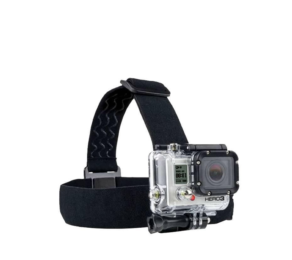 Adjustable Action Camera Head Strap
