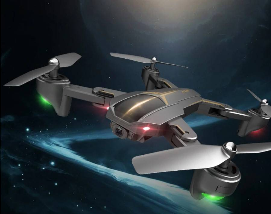 Black and Gold Design GPS Drone with Camera
