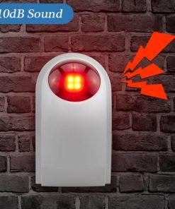 Wireless Flashing Alarm Strobe Light Latest On Sale