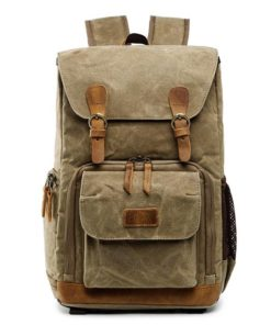 Waterproof Canvas Camera Backpack Latest On Sale