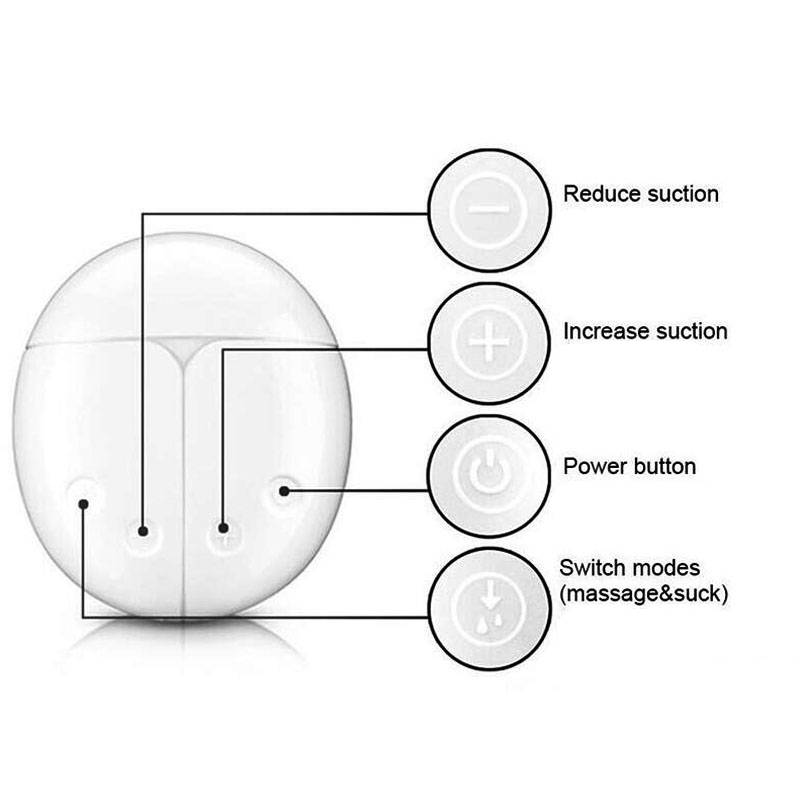 Double Electric Silicone Breast Pumps