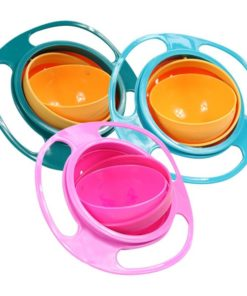 Baby's Rotating Plastic Bowl Latest On Sale