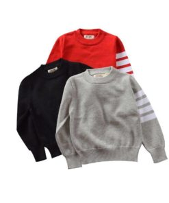 Kid's Casual Warm Knitwear Sweater Sweaters Children's Boy Clothing