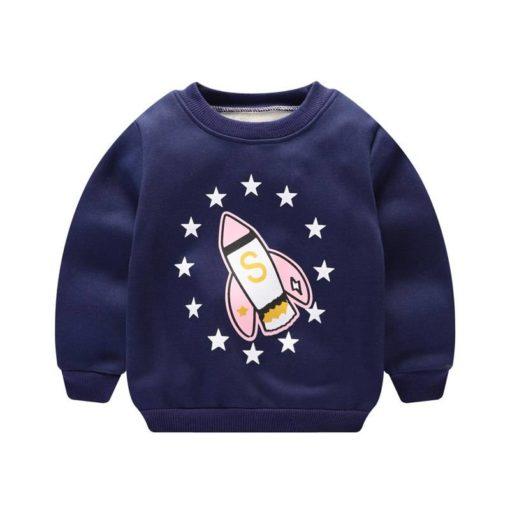 Warm Autumn Baby Boys Long Sleeve Sweatshirt Sweaters Children's Boy Clothing