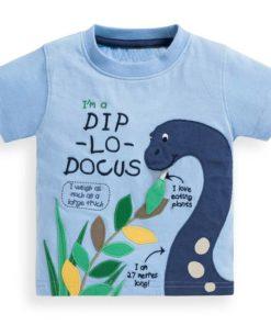 Boy's Animal Themed T-Shirt T-Shirts Children's Boy Clothing