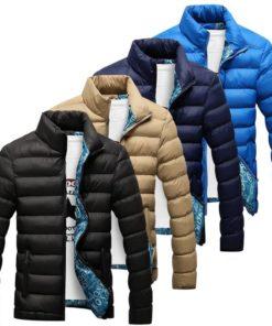 Men's Quilted Warm Jacket Jackets & Coats Men's Men's Clothing