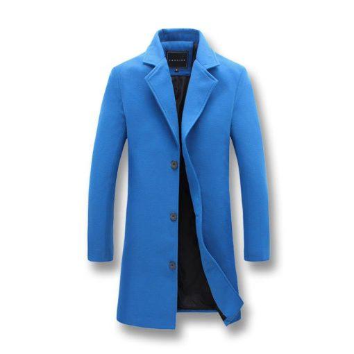 Fashion Men's Long Windproof Jackets Jackets & Coats Men's Men's Clothing