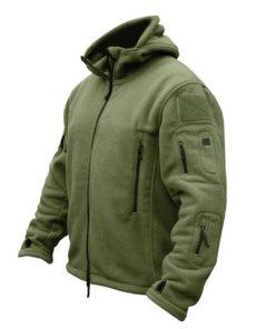 Winter Military Fleece Jacket for Men Jackets & Coats Men's Men's Clothing