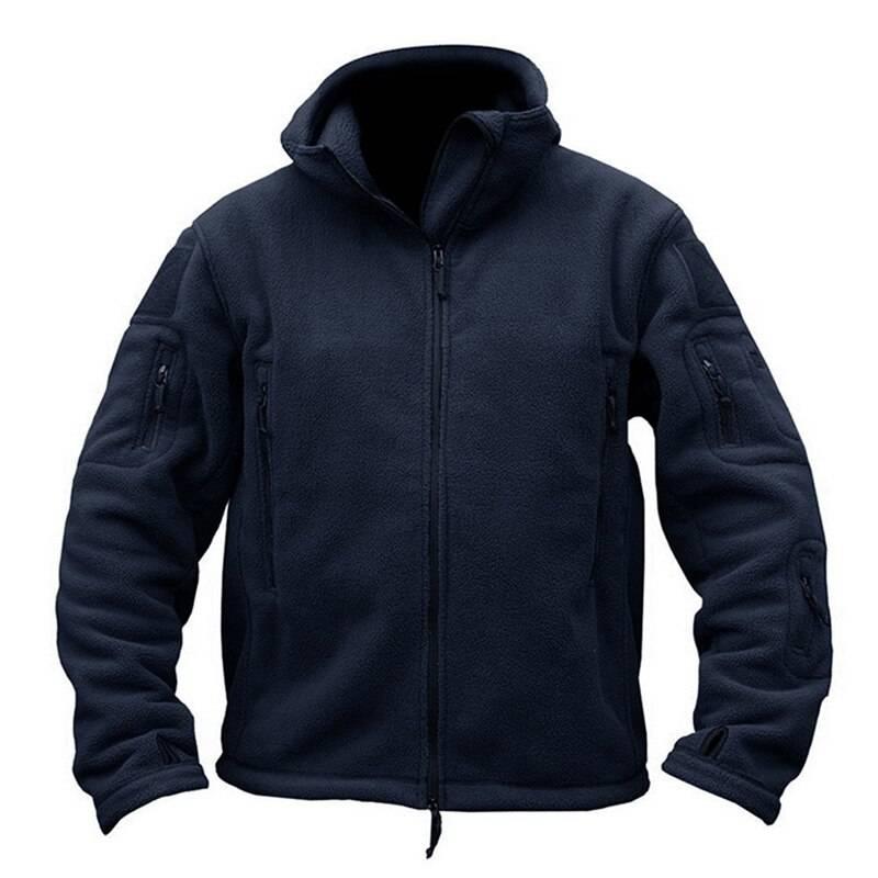 Winter Military Fleece Jacket for Men