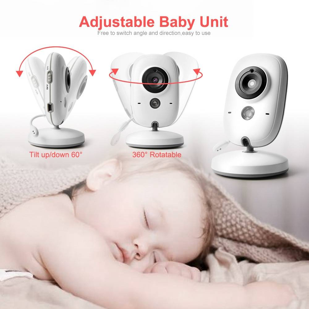Wireless Baby Monitor With Temperature Control ...