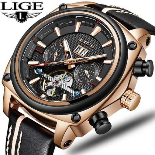 Automatic Mechanical Sports Watch Mens Watches Watches