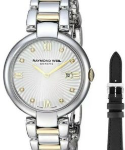 Raymond Weil Women's Shine Quartz Watch with Stainless-Steel Strap, Two Tone 1600-STP-00995 New Collection Women's Watches