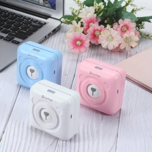 Mini Pocket Mobile Photo Printer Cool Tech Gadgets