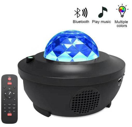 Projector Bluetooth Speaker Colorful Projection Lamp Cool Tech Gadgets