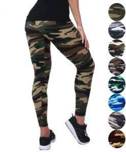 Women Camouflage Printing Elasticity Sexy Leggings Bottoms Our Best Sellers