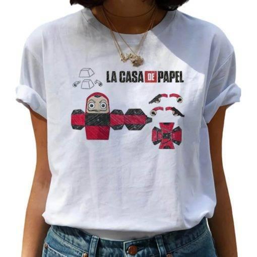 Women La Casa De Papel Hip Hop T-shirt Our Best Sellers Tops & Tees
