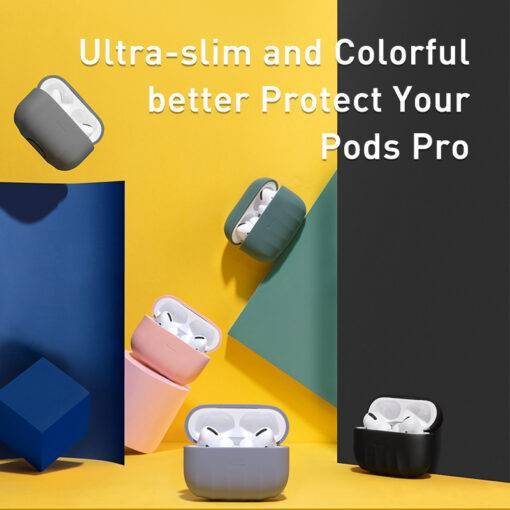Baseus Non-slip Case For Airpods Pro Cell Phones & Accessories