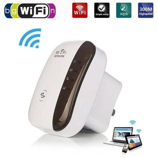 Wireless Extender 300Mbps Amplifier 802.11N/B/G Booster Cool Tech Gadgets