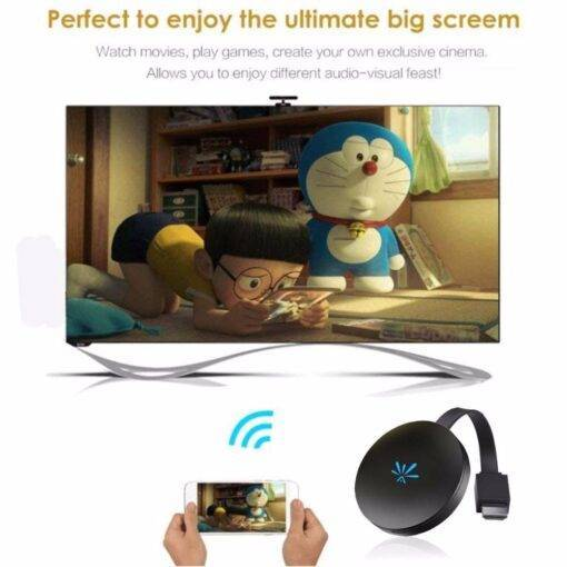 TV Stick 2.4GHz Video WiFi Display Video Streamer Cool Tech Gadgets