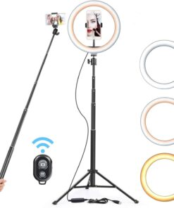 26cm USB LED Light Ring and Flash Lamp With 130cm Tripod Stand Cool Tech Gadgets
