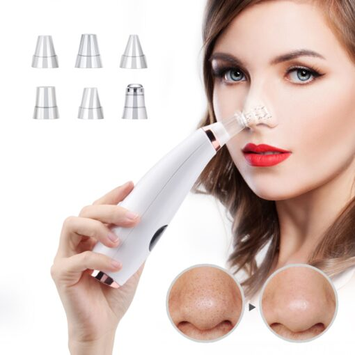 Facial Cleaner Nose Blackhead Remover Deep Pore Acne Pimple Vacuum Suction Our Best Sellers Cosmetics