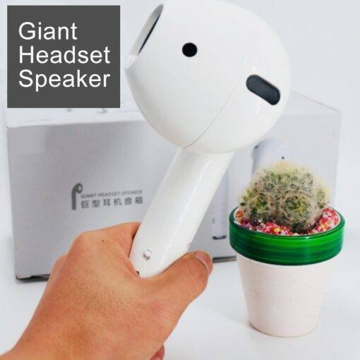 Giant Headset Wireless Stereo Portable Speaker Cool Tech Gadgets