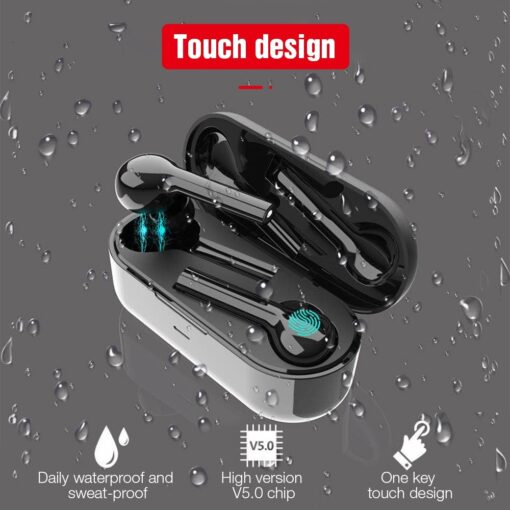 TWS Wireless Touch Control Sport Headset Cell Phones & Accessories